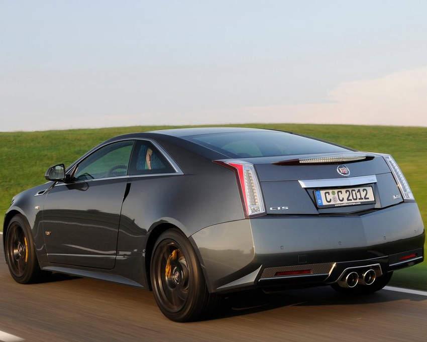 задние фонари Cadillac CTS-V Купе 2013
