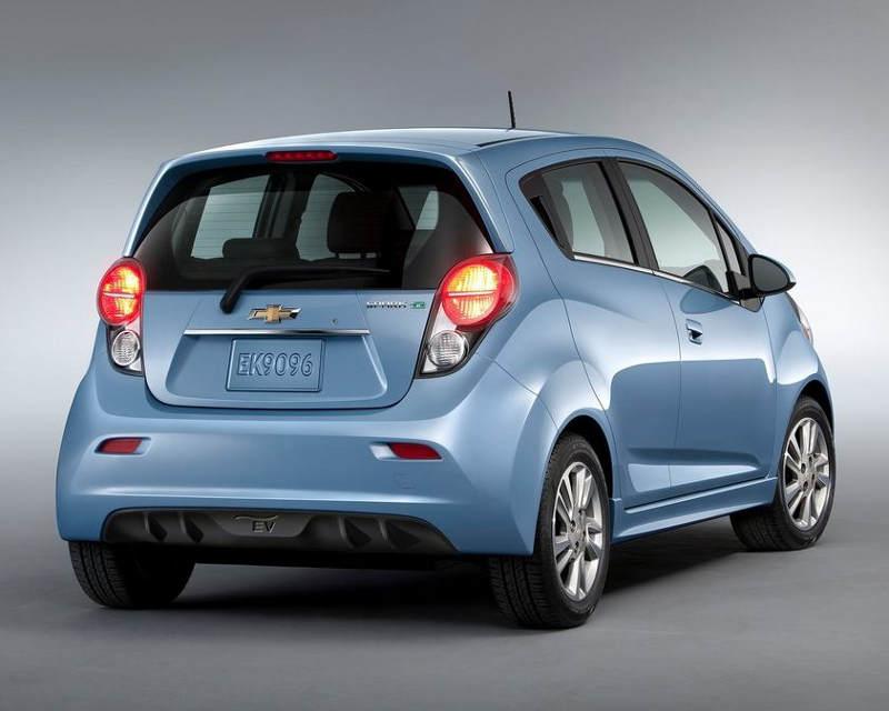 задние фонари Chevrolet Spark EV 2014