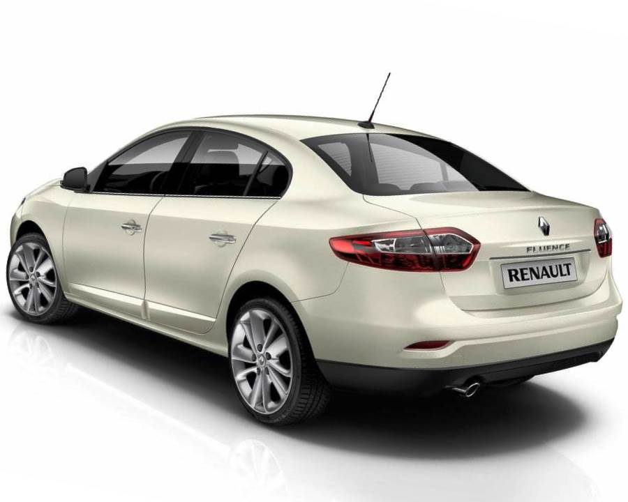 задние фонари Renault Fluence 2013
