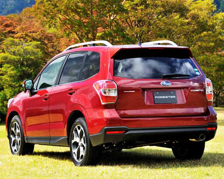 задние фонари Subaru Forester 2013
