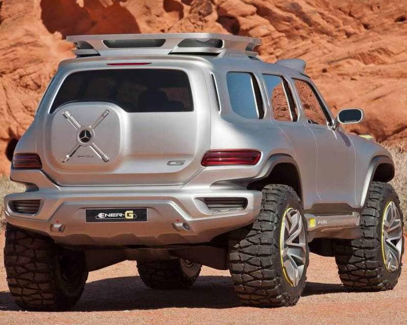 задняя часть Mercedes Ener-G-Force 2012 года