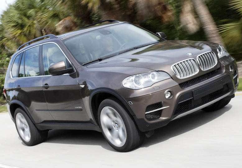 BMW X5 2008-2012 отзывают