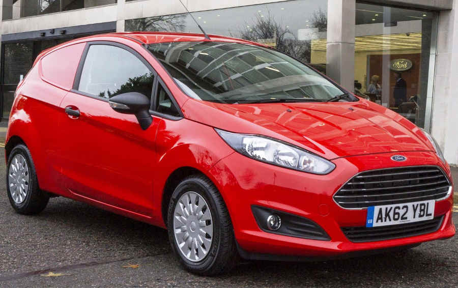 Ford Fiesta Van 2013