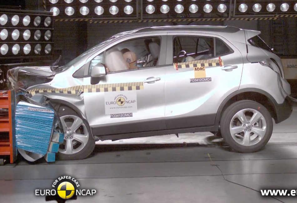 Краш-тест Opel Mokka