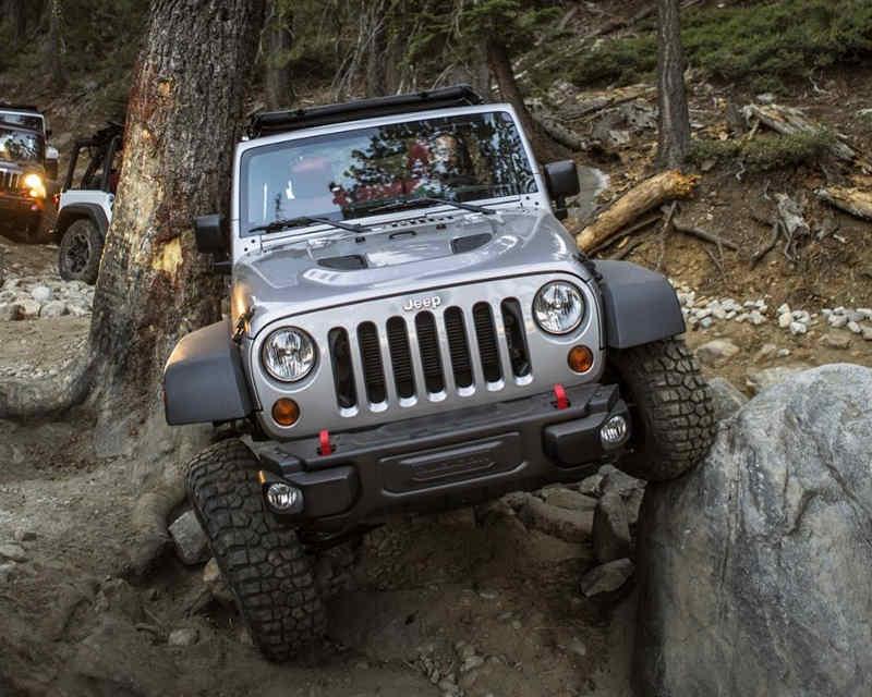 Проходимость Jeep Wrangler Rubicon 10th Anniversary Edition