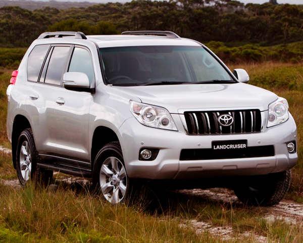 Toyota Land Cruiser 150 Prado для администрации Киренского района