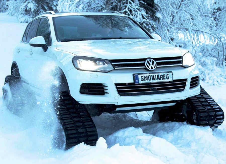 Тюнинг Volkswagen Touareg фото