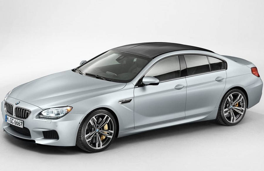 ещё фото BMW M6 Gran Coupe 2014 года
