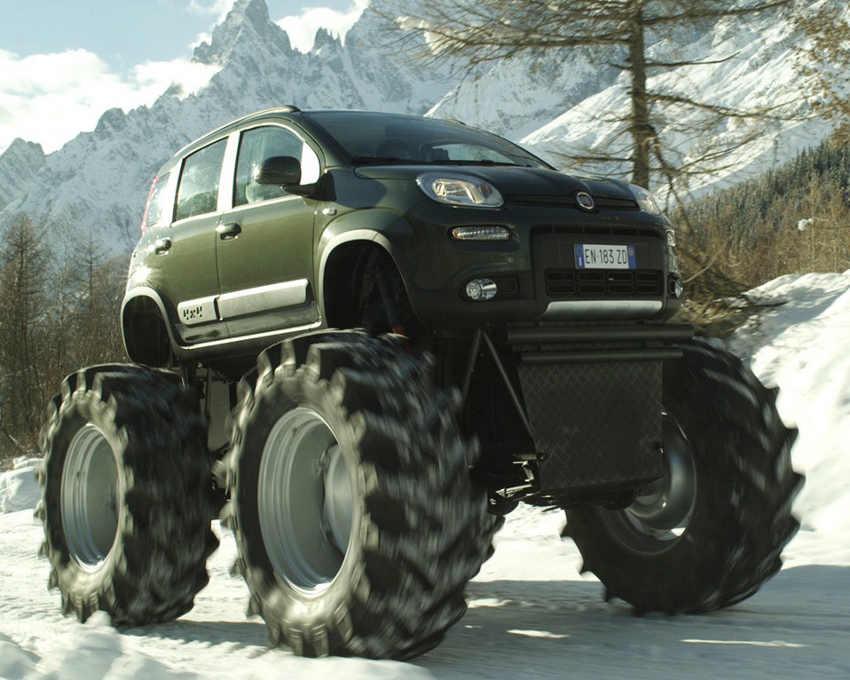 ещё фото Fiat Panda Monster Truck