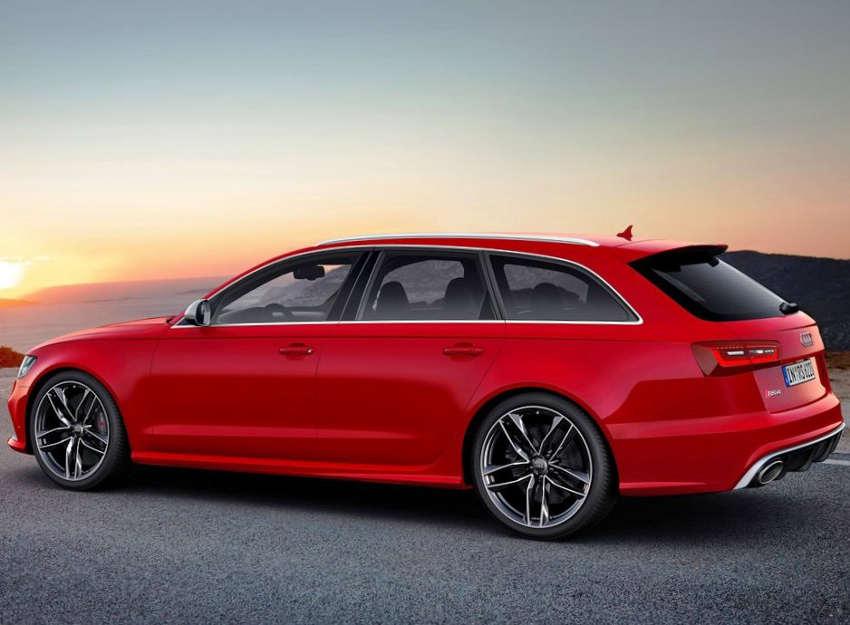 фото Audi RS6 Avant 2014 сбоку