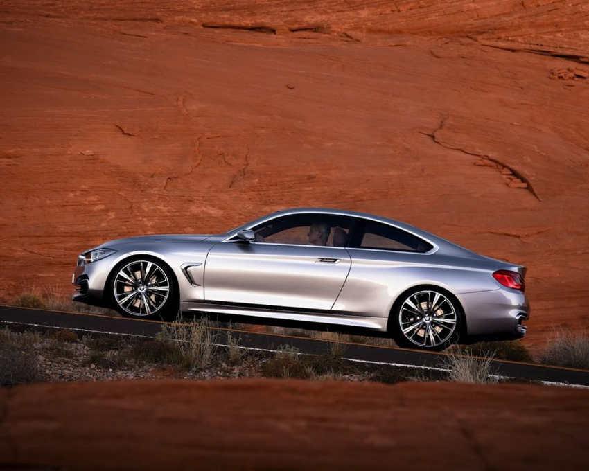 фото BMW 4-Series Coupe 2014 сбоку