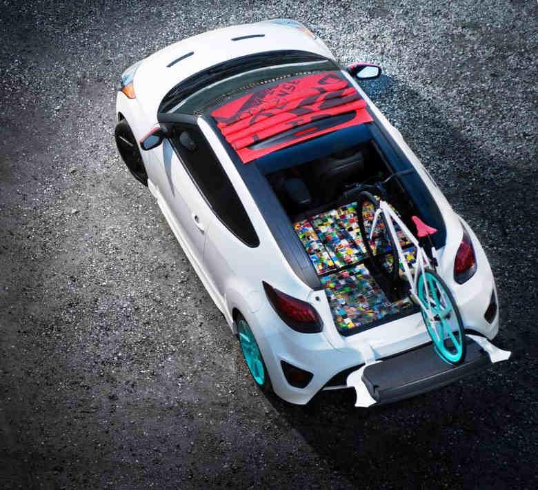 фото Hyundai Veloster C3 Roll Top сверху