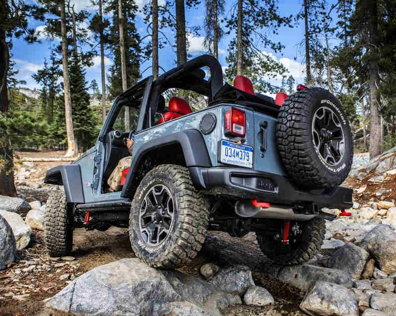 фото Jeep Wrangler Rubicon 10th Anniversary Edition 2013