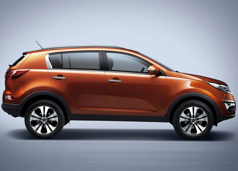 фото Kia Sportage Limited Edition 2012 сбоку