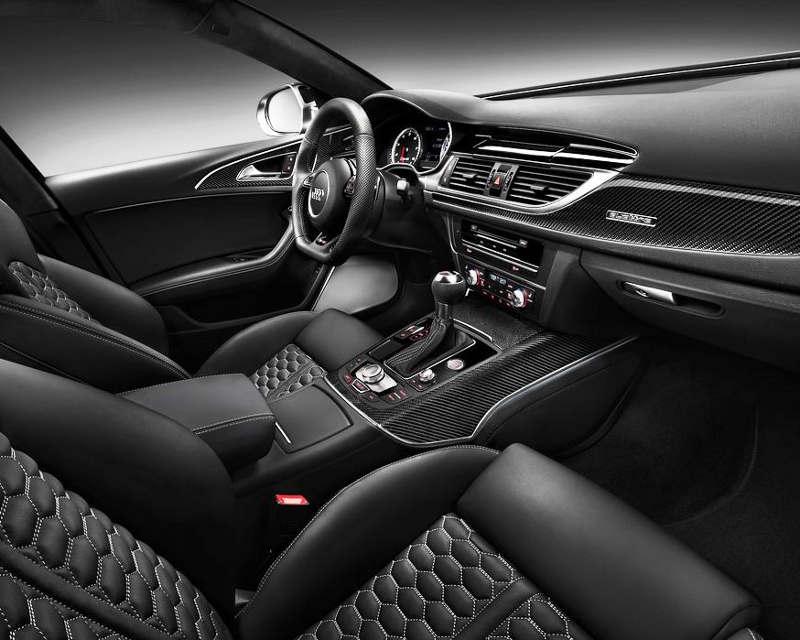 интерьер Audi RS6 Avant 2014