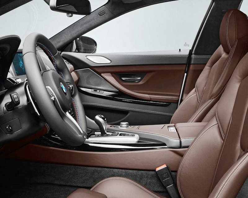 интерьер BMW M6 Gran Coupe 2014