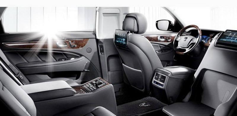 интерьер Hyundai Equus 2013