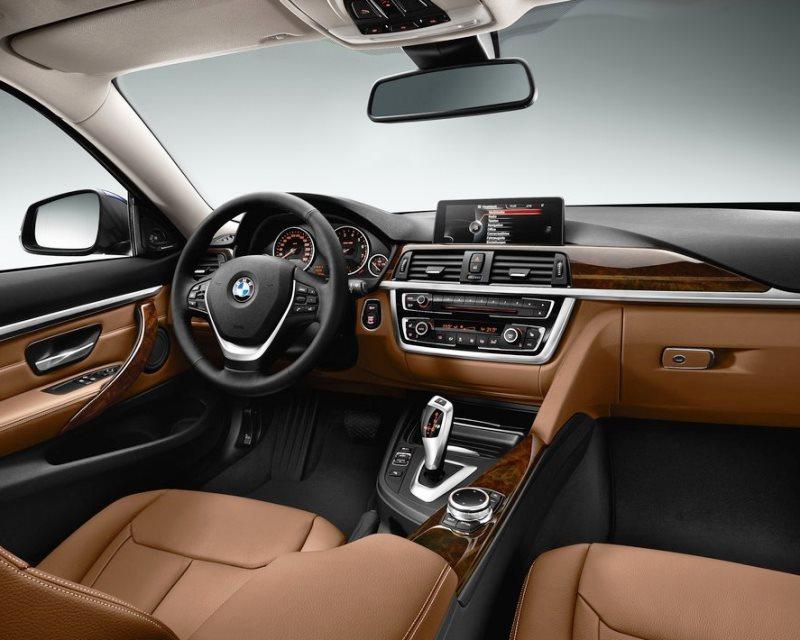интерьер Купе BMW 4-Series 2014