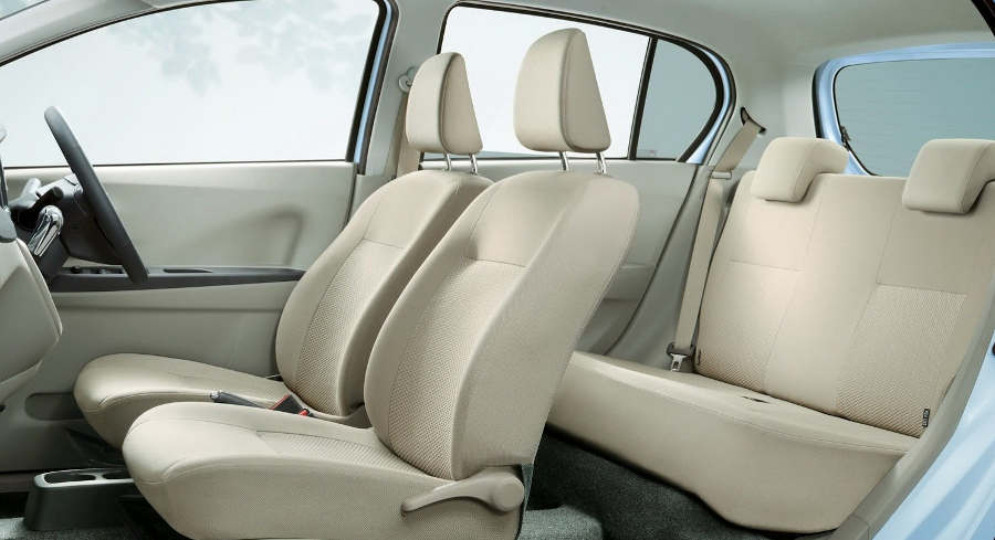 интерьер Subaru Pleo Plus 2013 года