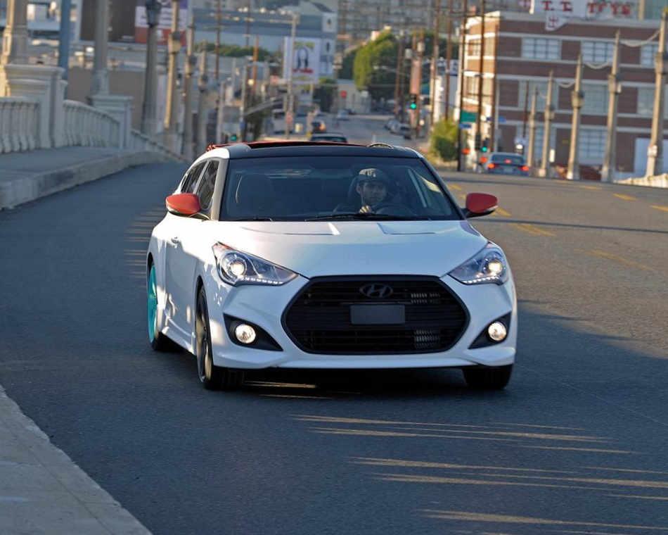 концепт Hyundai Veloster C3 Roll Top 2012