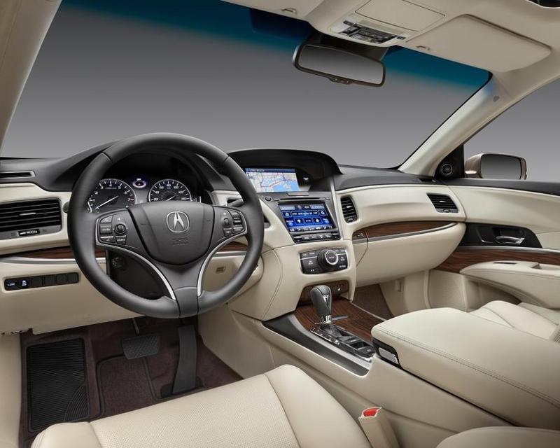 салон Acura RLX 2014