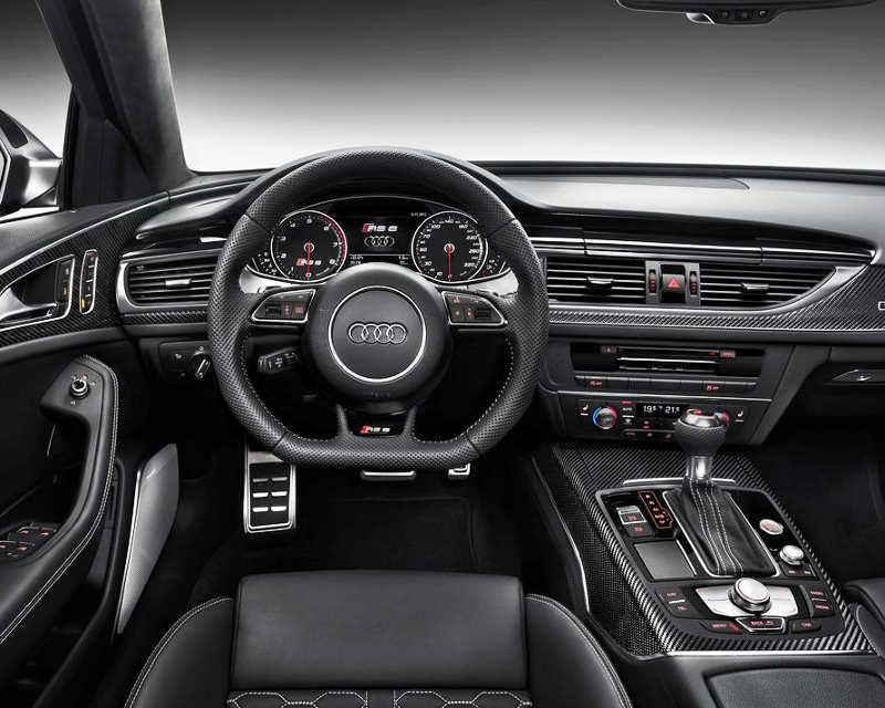 салон Audi RS6 Avant 2014 года
