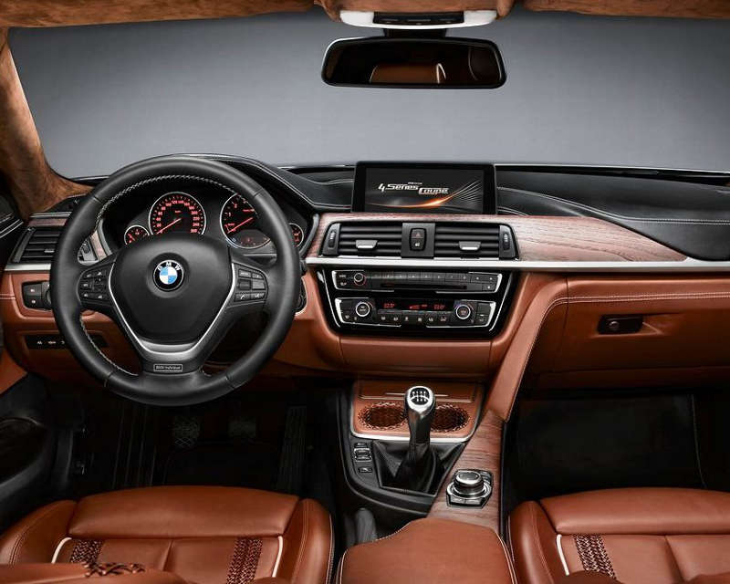 салон BMW 4-Series Coupe 2014