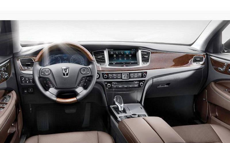 салон Hyundai Equus 2013