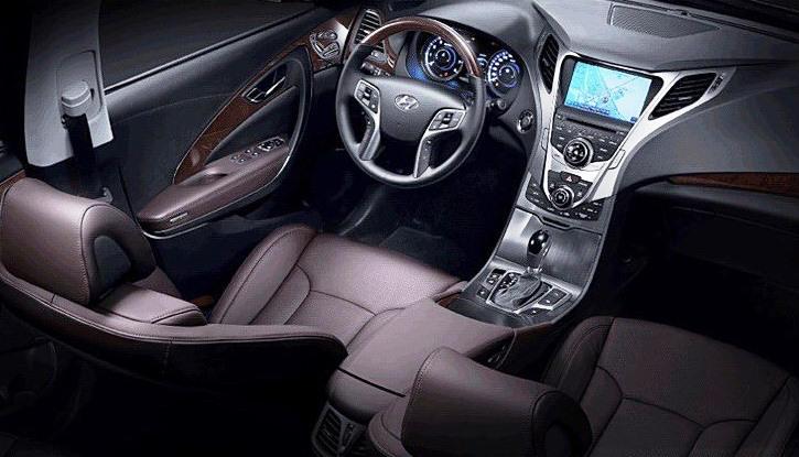 салон Hyundai Grandeur 2013