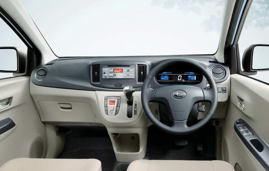 салон Subaru Pleo Plus 2013 года
