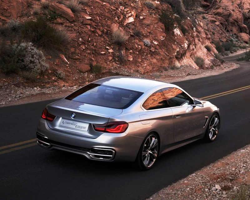 задние фонари BMW 4-Series Coupe 2014
