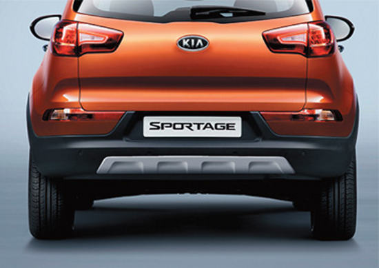 задний бампер Kia Sportage Limited Edition 2012