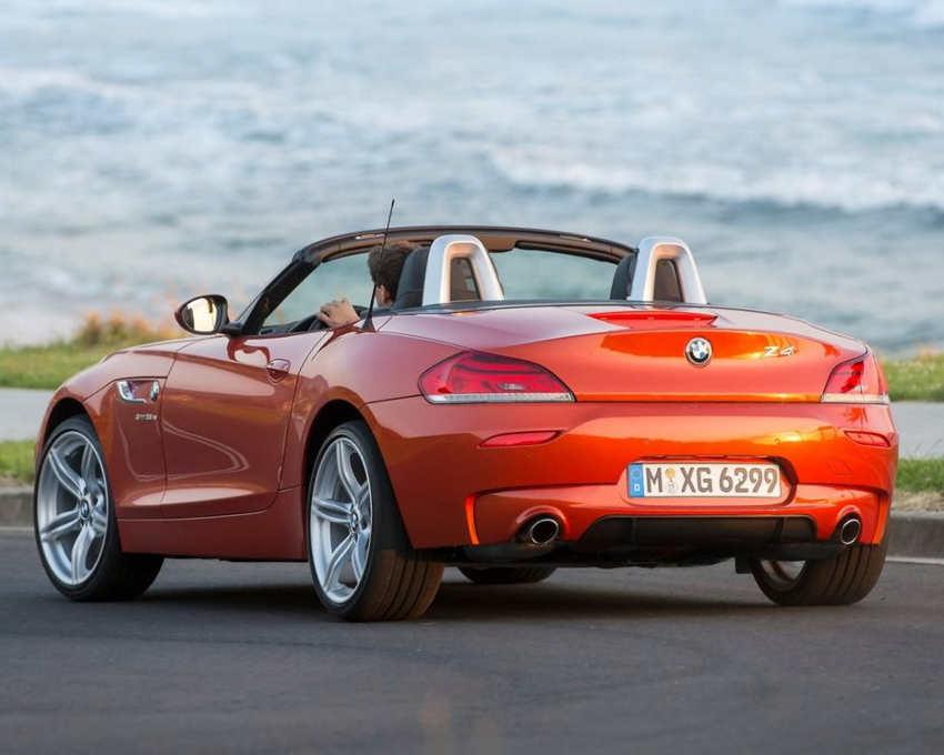 задняя часть BMW Z4 Roadster 2014