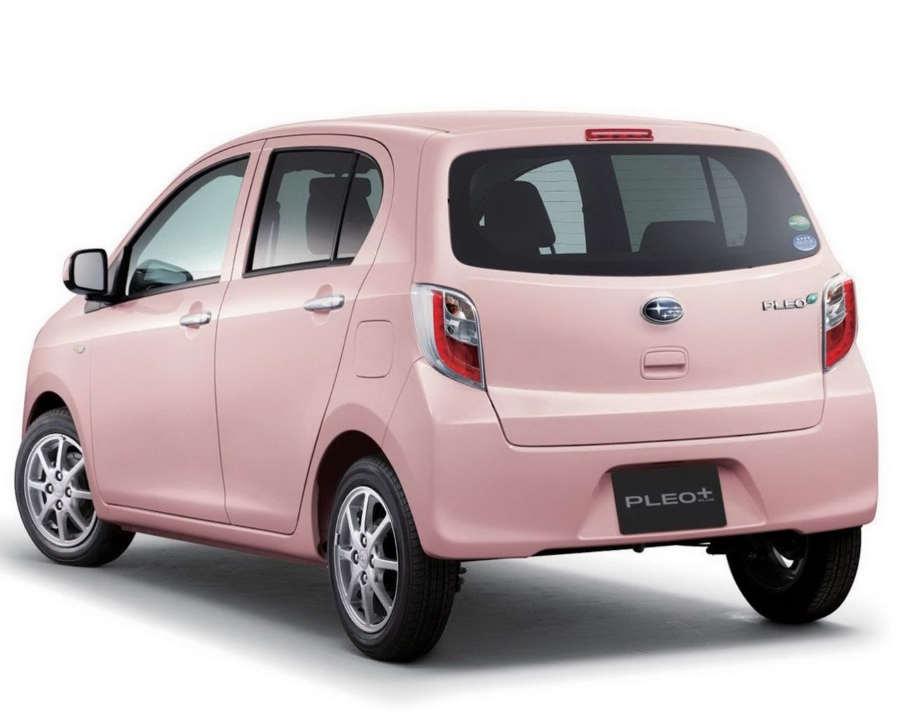 задняя часть Subaru Pleo Plus 2013