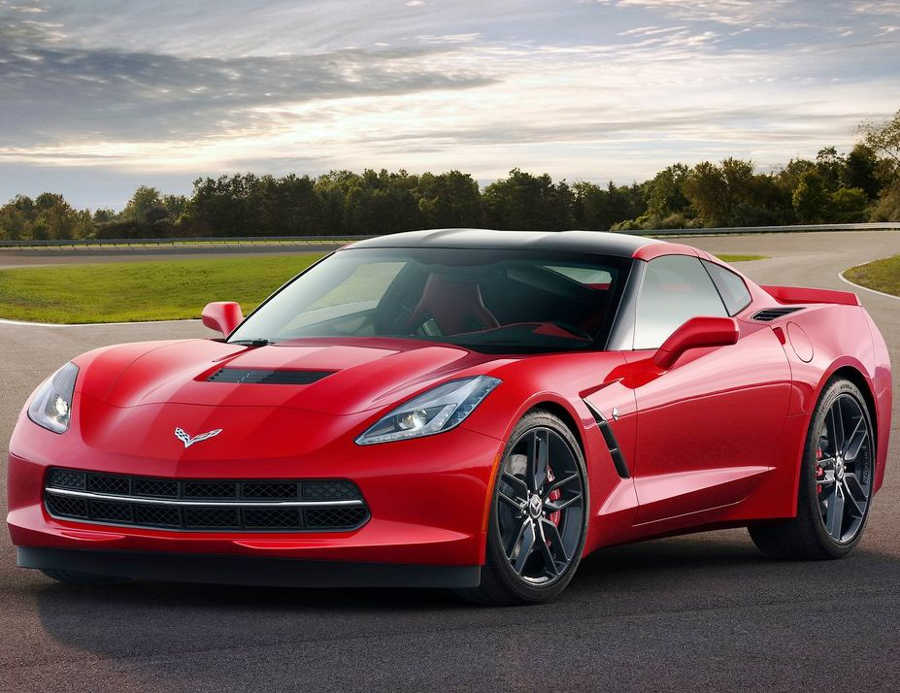 Фото Chevrolet Corvette C7 Stingray 2014 года