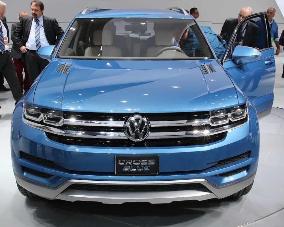 Концепт Volkswagen CrossBlue 2013