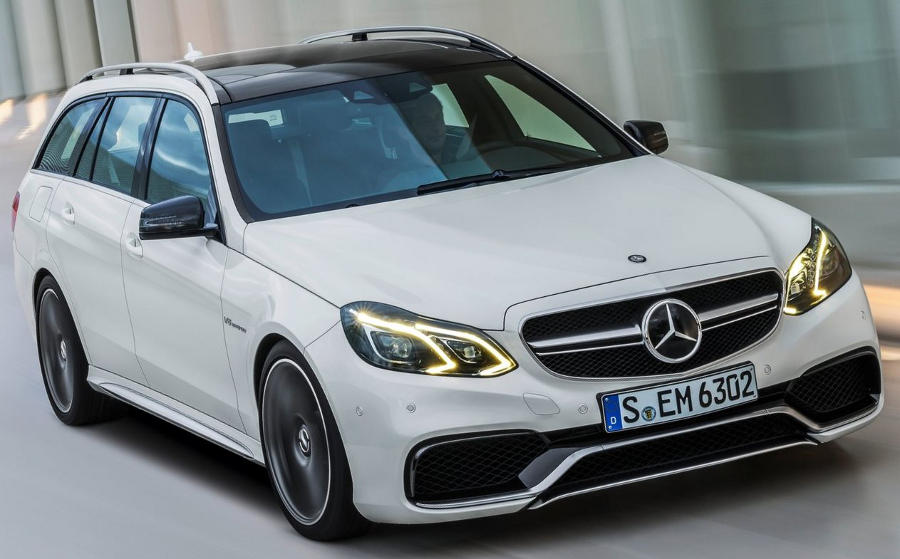 Mercedes E63 AMG Estate 2014