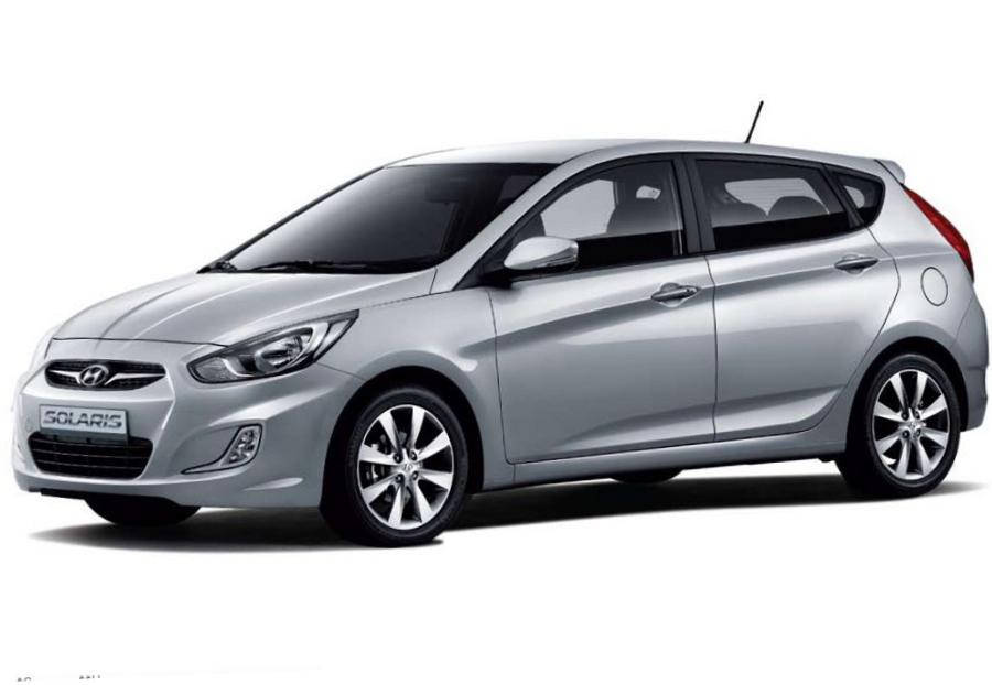 Цена хетчбэка Hyundai Solaris 2013