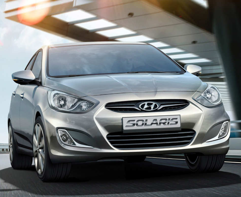 Цена седана Hyundai Solaris 2013