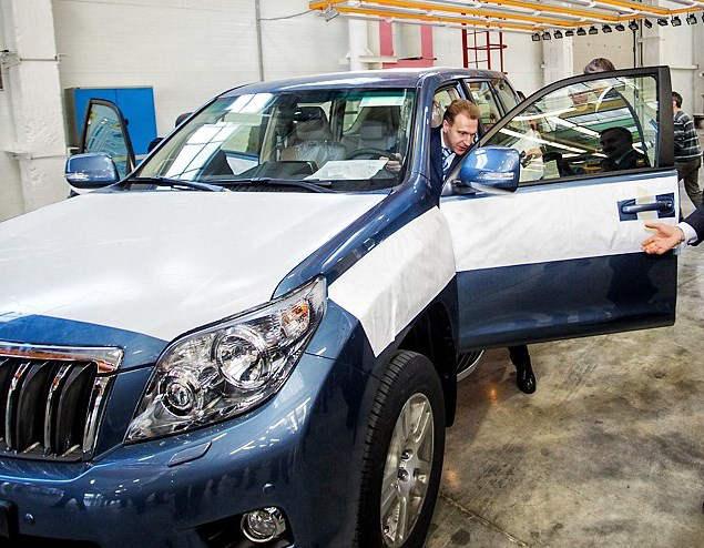 Toyota Land Cruiser Prado 2013 российского производства