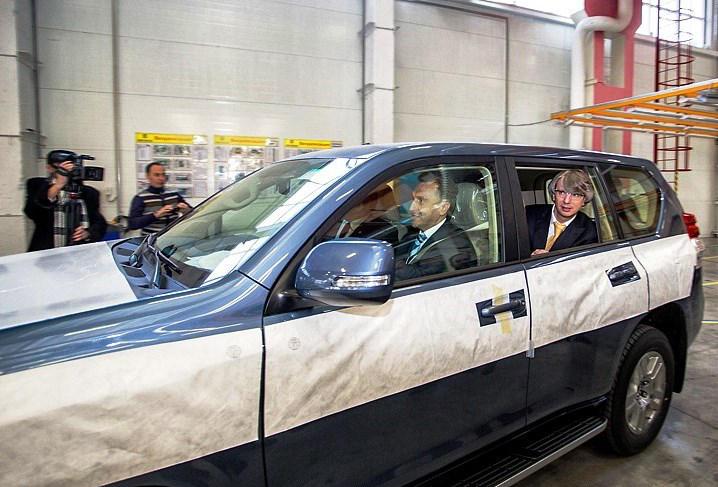 Toyota Land Cruiser Prado 2013 в России
