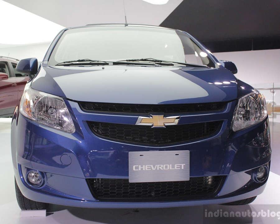 бампер и фары Chevrolet Sail 2014