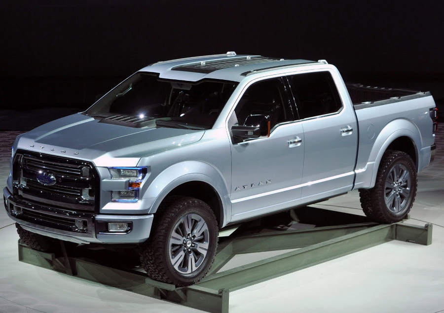 диски Ford Atlas Concept 2013