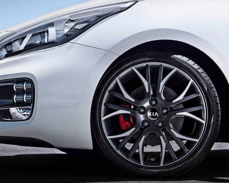 диски и фары Kia Pro Ceed GT
