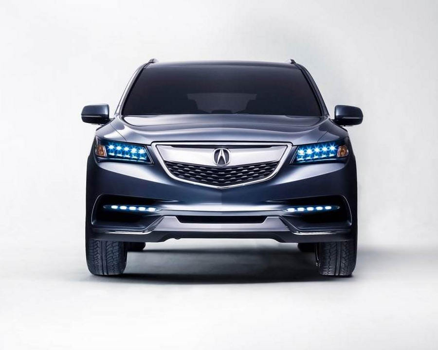 фары и бампер Acura MDX 2014