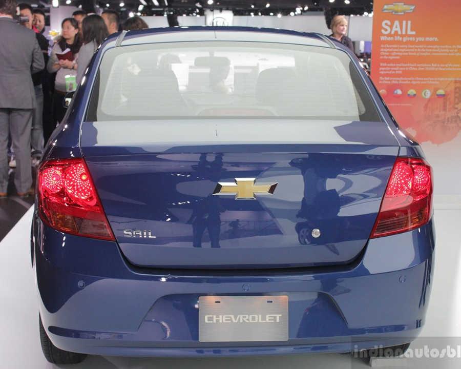 фонари и багажник Chevrolet Sail 2014