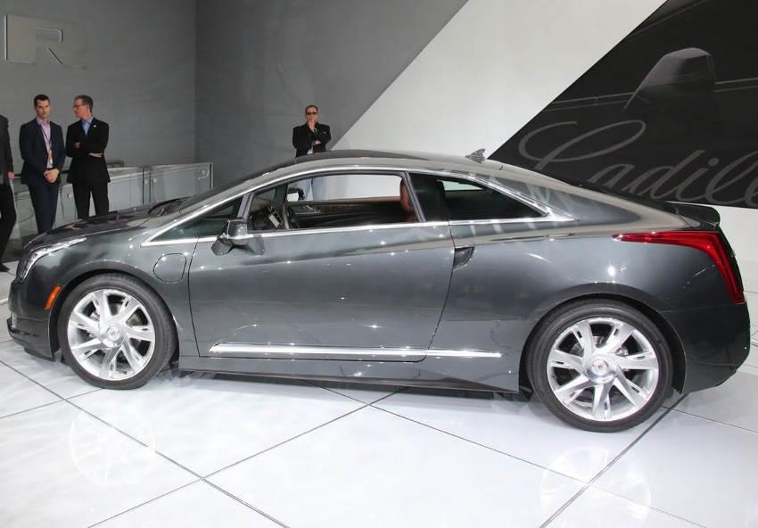фото Cadillac ELR 2014 сбоку