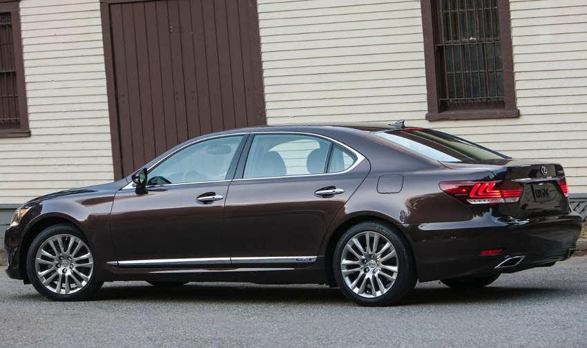 фото Lexus LS 600h 2013 сбоку