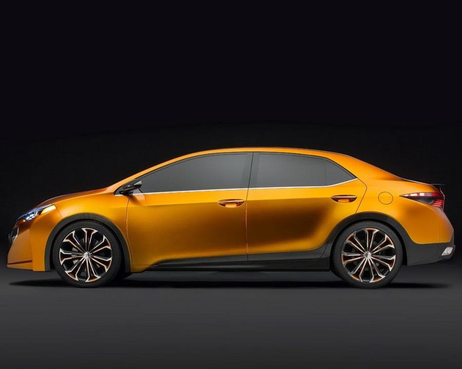 фото Toyota Corolla Furia Concept 2013 сбоку