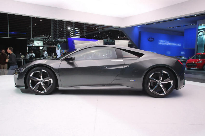 фото концепта Acura NSX 2013 сбоку